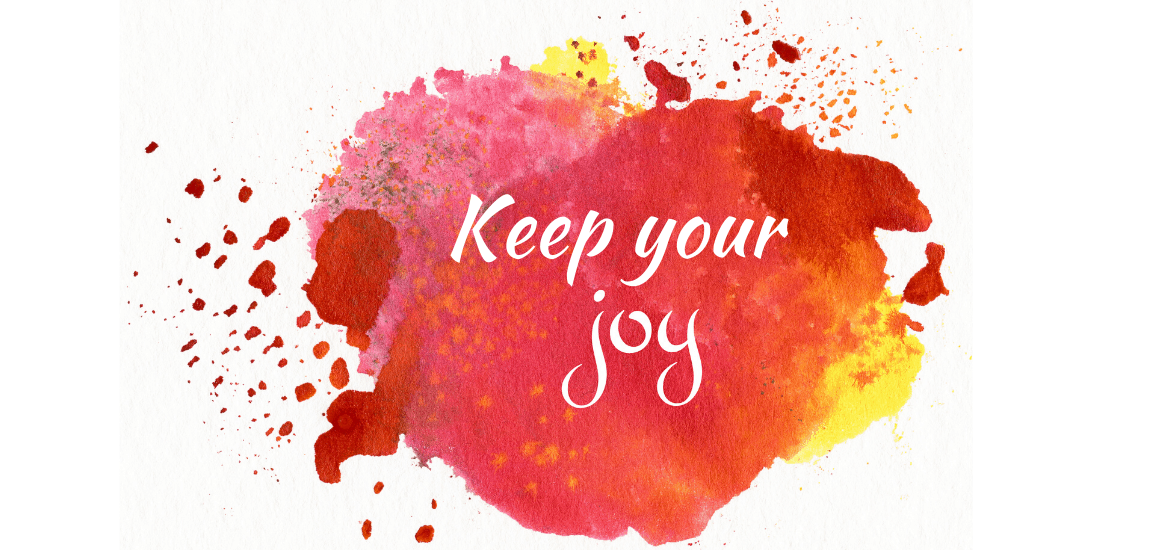 Circumstances can't rob you of your joy but your attitude and responses to those circumstances can!