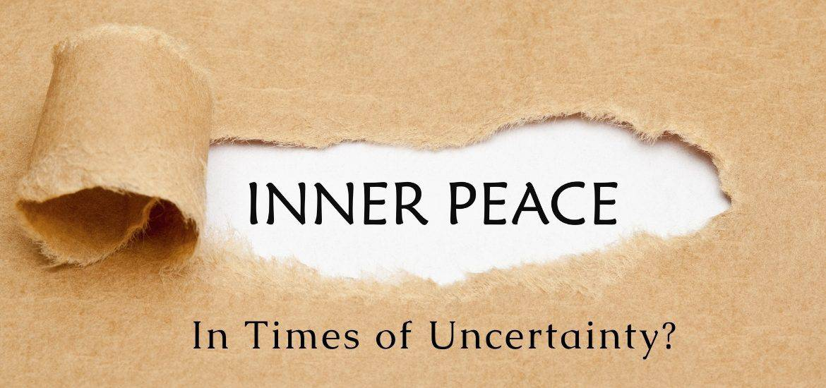 Is it possible to find wholeness even during times of uncertainty and world-wide adversity?