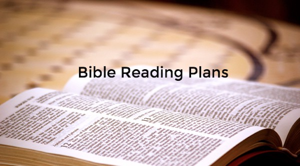 Maybe the problem isn't a lack of self-discipline. Maybe you just need a little help as you enter into the rhythm of a Bible Reading Plan