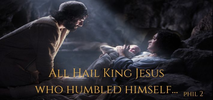 As Christmas draws near, we remember that even though Jesus had full knowledge of His true power and position, our King reigned with humbleness of heart.